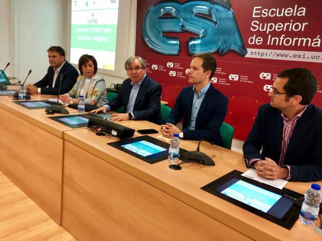 La UCLM presenta un ambicioso proyecto de investigación para agricultura inteligente