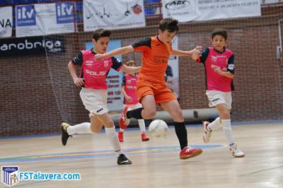 Los Alevines e Infantiles del Soliss FS Talavera participan en el XI Torneo 'Ciudad de Toledo'