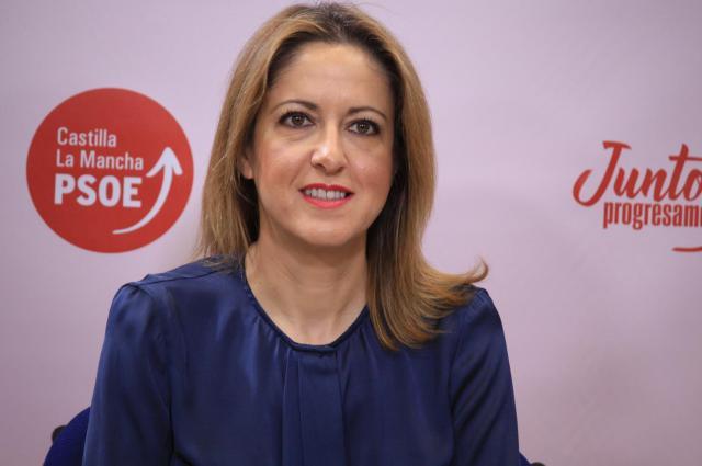 La vicesecretaria y portavoz del PSOE de Castilla-La Mancha, Cristina Maestre