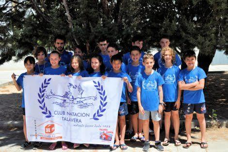 El CN Talavera gana 13 medallas en el Campeonato Provincial (fotos)