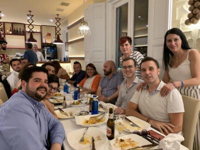 Tita García asiste a la cena benéfica por la visibilidad e inclusión del colectivo LGTBI