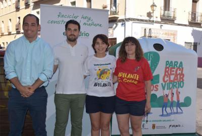 Reciclaje y solidaridad en la campaña '12 motivos para reciclar vidrio'