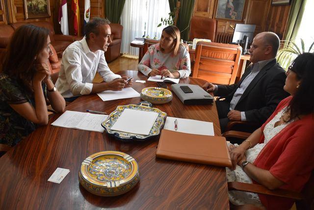 Reunión con representantes de Gas Natural Fenosa