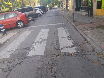 """Pasos de peatones en Talavera que suponen un """"peligro"""" para la seguridad vial"""