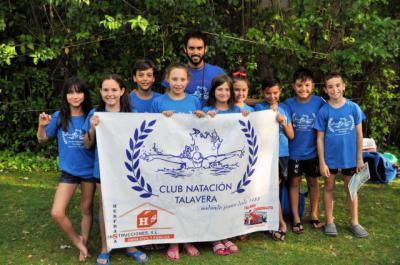 El CN Talavera logra 11 medallas en los Campeonatos Regionales de Verano