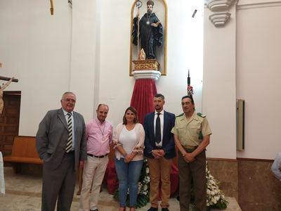 Misa en honor a San Benito en el convento talaverano