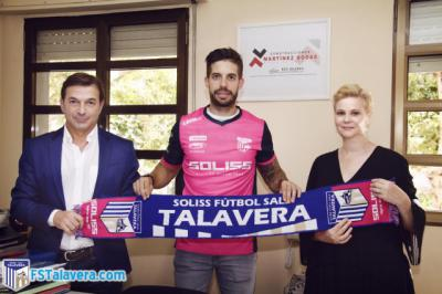 Nacho Pedraza, nuevo fichaje del Soliss FS Talavera