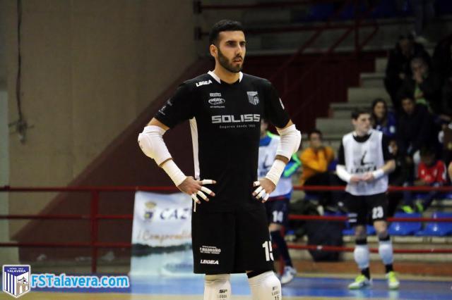 Luque seguirá poniéndole el candado a la portería del Soliss FS Talavera
