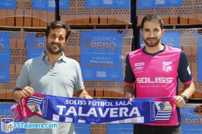 Anass renueva por el Soliss FS Talavera