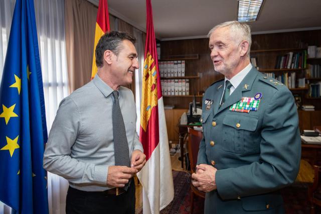 El delegado del Gobierno en Castilla-La Mancha agradece al General Llamas