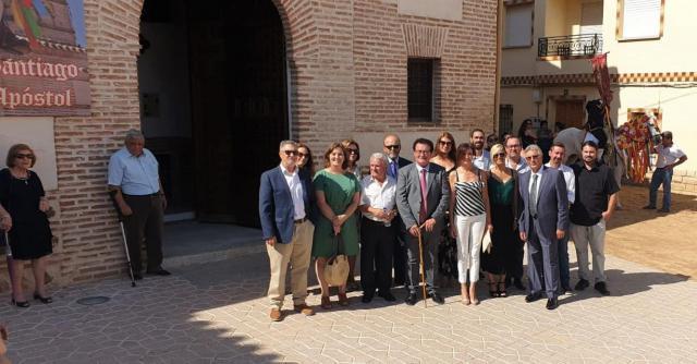 La Diputación participa en las fiestas de El Carpio de Tajo