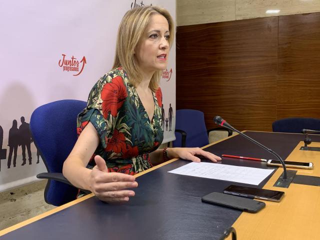La eurodiputada y portavoz del PSOE de Castilla-La Mancha, Cristina Maestre