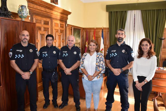 Tres nuevos agentes se incorporan a la Policía Local de Talavera