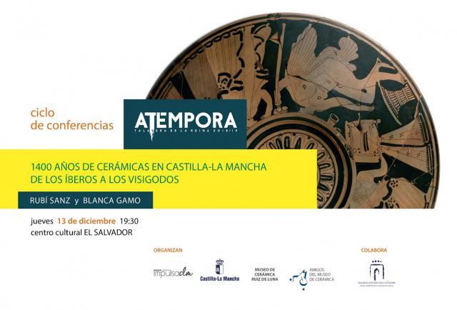 '1.400 años de cerámicas en Castilla-La Mancha', cuarta conferencia del ciclo aTempora