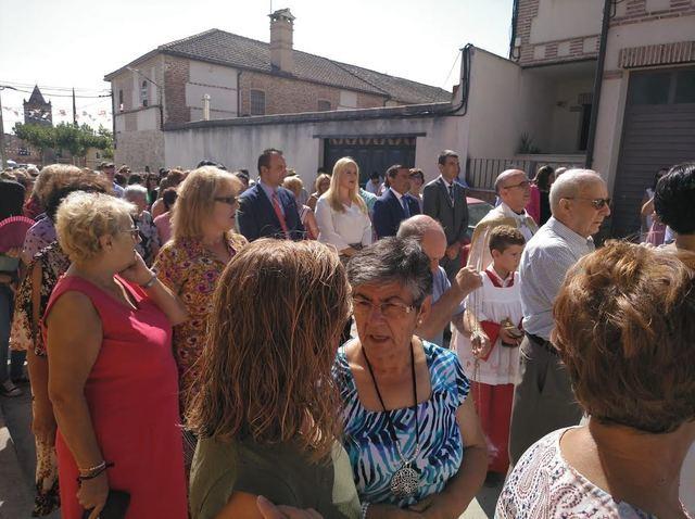 Misa y procesión en las fiestas de Gamonal