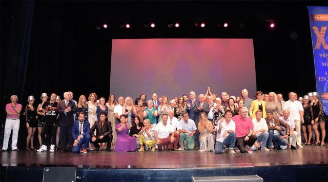 Brillante gala de los Premios de la Música y Artes Escénicas 'Ciudad de Talavera' en su 20 aniversario