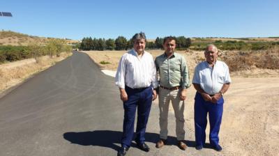 La Junta mejora más de un kilómetro del `Camino Segoviano´ en Montearagón