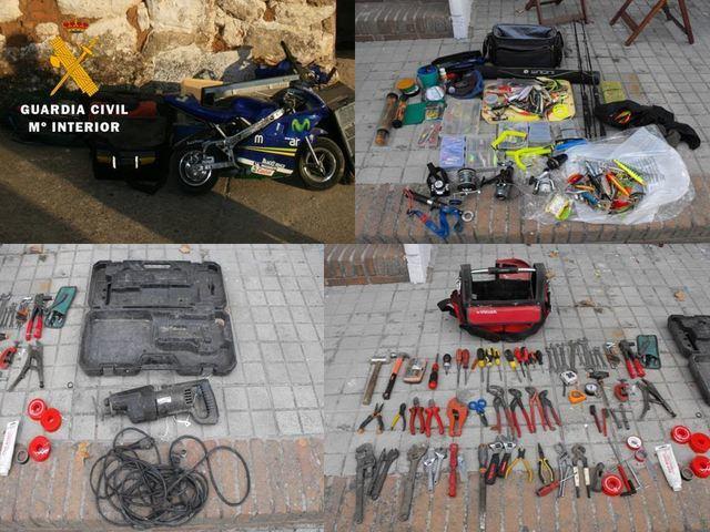 Tres detenidos, un de ellos menor de edad, por robos en Valdeverdeja