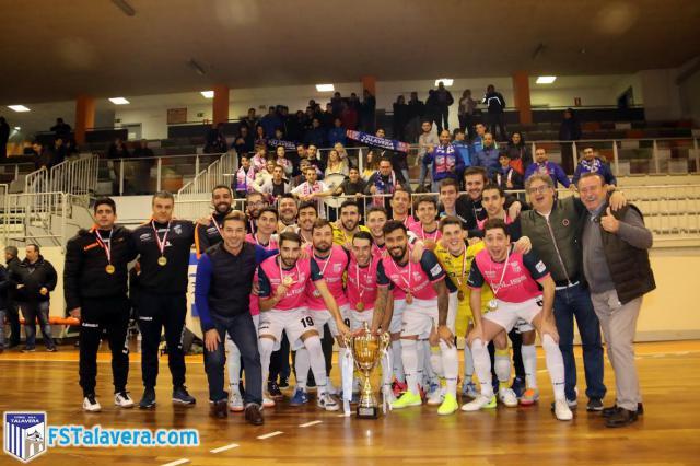 El Soliss FS Talavera se proclama campeón del Trofeo de la JCCM