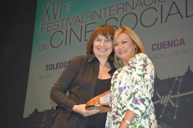 Asumpta Serna, mejor interpretación femenina en el Festival Internacional de Cine Social de CLM