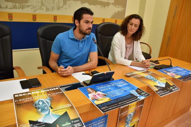 'El misterio sumergido de Talavera', el 'escape room' para concienciar sobre el reciclaje
