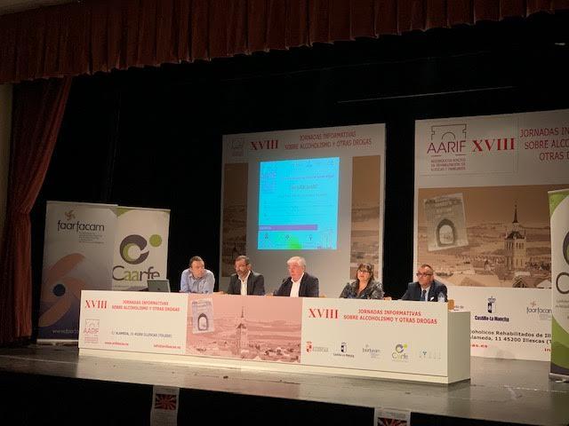 Illescas acoge las XVIII Jornadas Informativas sobre alcoholismo y otras drogas