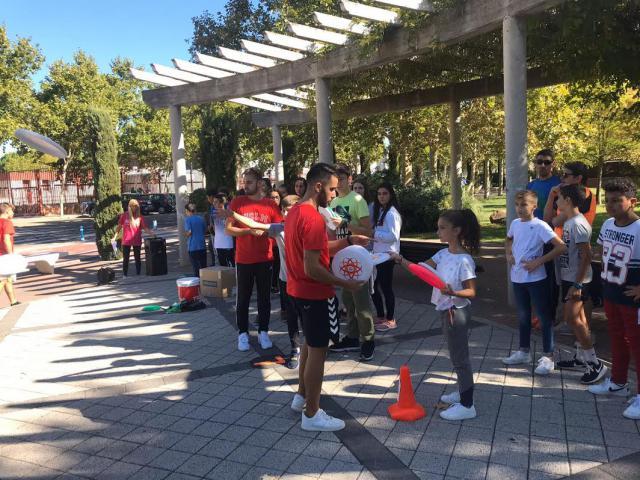 El IES Puerta de Cuartos participó en la Semana Europea el Deporte