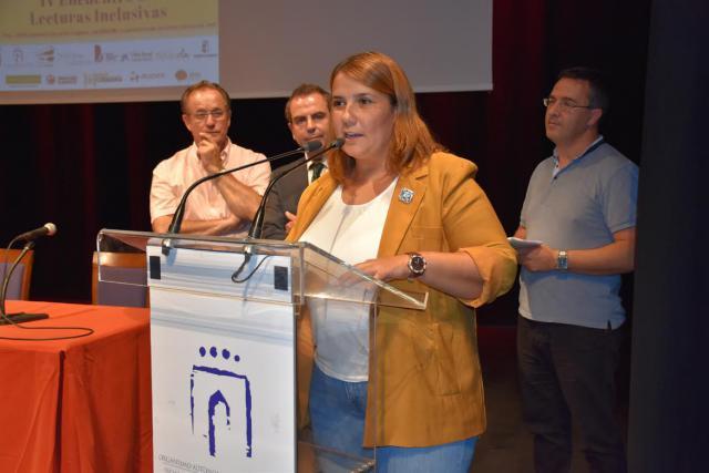 """Tita García durante el IV Encuentro de Lecturas Inclusivas: """"No podemos privar a nadie del placer de la lectura"""""""