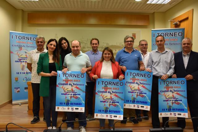 """Talavera, """"pionera"""" en inclusión deportiva con el I Toneo Regional de Fútbol Sala para personas con diversidad funcional"""