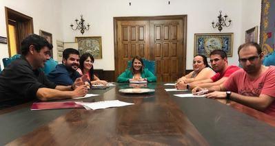Ayuntamiento muestra su colaboración con Atanjo y las personas con diversidad funcional