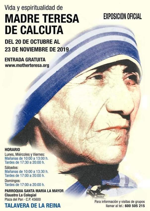 Exposición sobre la Madre Teresa de Calcuta en Talavera de la Reina
