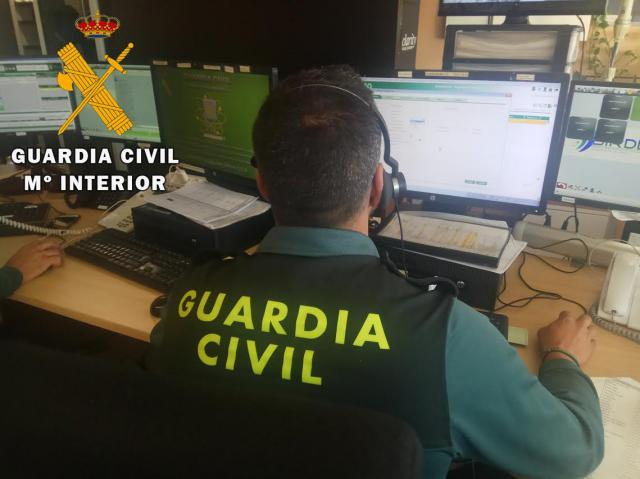 Detenida por hacer 68 llamadas falsas a teléfonos de la Guardia Civil para perjudicar a una vecina