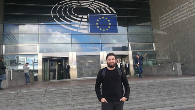 Unidas Podemos-IU traslada su preocupación con el tren Extremadura-Talavera-Madrid en el Parlamento Europeo