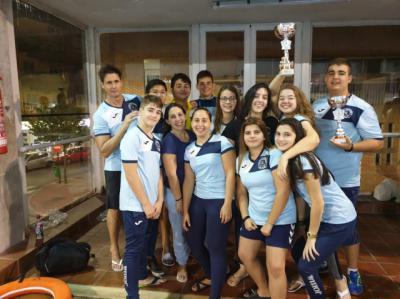 El equipo femenino del Poseidón Talavera conquista la Copa de Castilla-La Mancha de Waterpolo