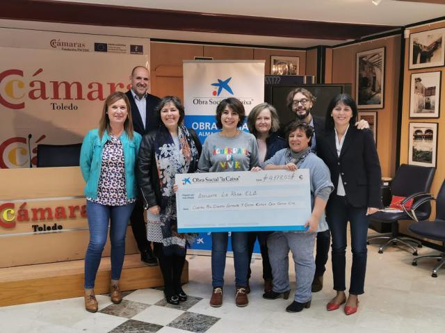 El I Día de la Solidaridad de Talavera recauda más de 4.000 euros para luchar contra la ELA