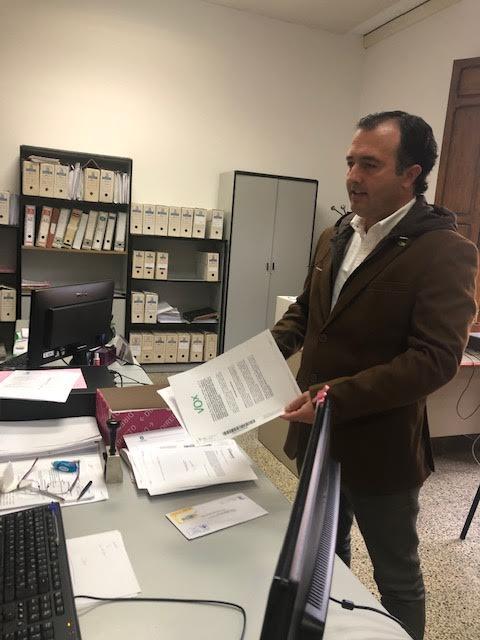David Moreno, portavoz de Vox Talavera
