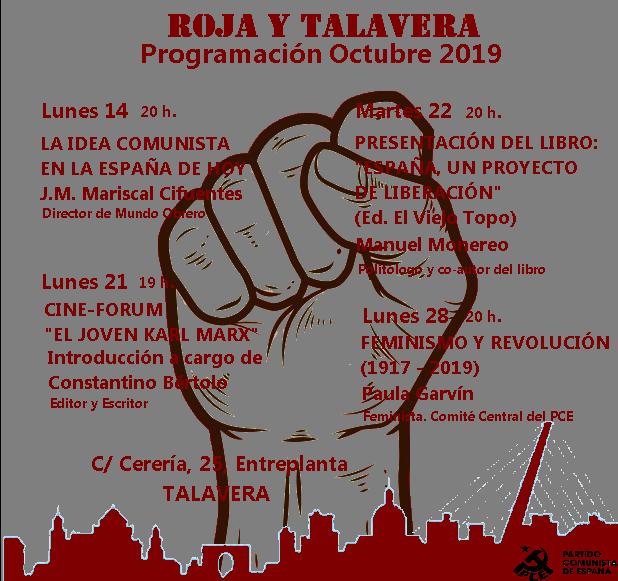 El Partido Comunista de España vuelve a Talavera