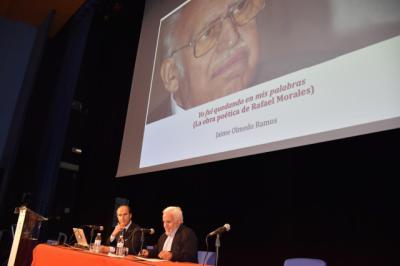 Nueva conferencia por el centenario del poeta talaverano Rafael Morales