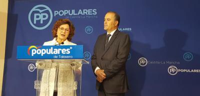 Riolobos y Gregorio dicen que los grandes proyectos de Talavera volveran con el PP de Casado