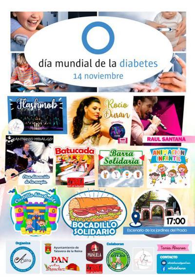 Música, magia y solidaridad para celebrar en Talavera el Día Mundial de la Diabetes
