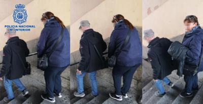 Detienen a tres carteristas que se hacían pasar por turistas para robar en casco histórico de Toledo