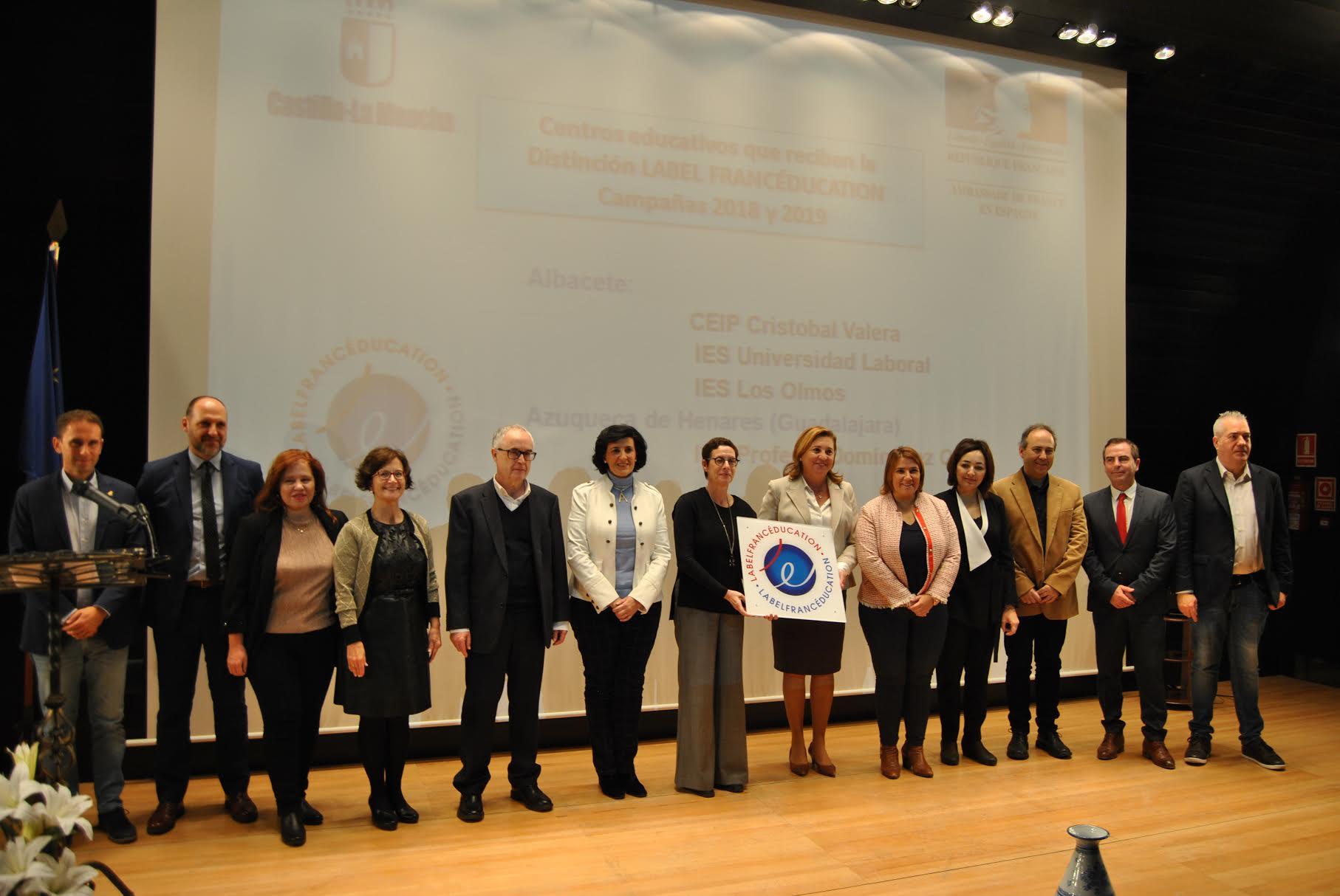 Francia premia al IES 'Juan Antonio Castro' de Talavera con el sello de calidad 'LabelFrancEducation' - www.lavozdeltajo.com