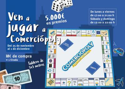 El 'Comerciópoly' de Los Alfares repartirá 5.000 euros en premios
