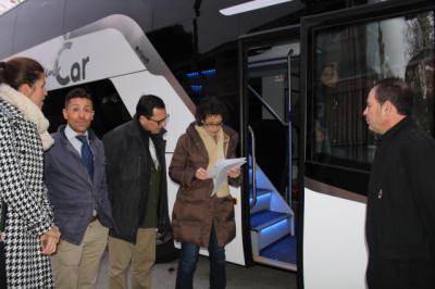 Comienza el plan de inspección del transporte público escolar