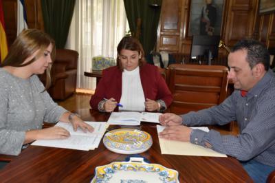 Tita García se reúne con la alcaldesa de Gamonal para abordar las necesidades del municipio