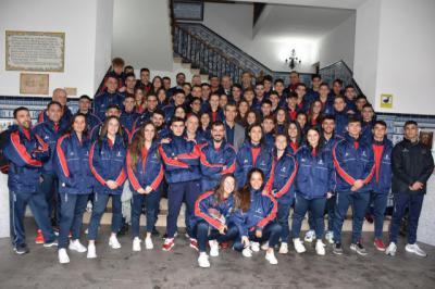 El Ayuntamiento abre su puerta noble a los karatekas de CLM seleccionados para el Campeonato de España