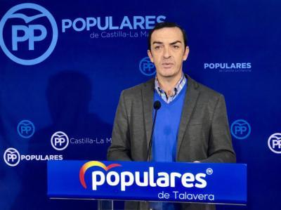 El PP pregunta a la alcaldesa de Talavera qué opina del impulso de la Junta a la plataforma de Alcázar