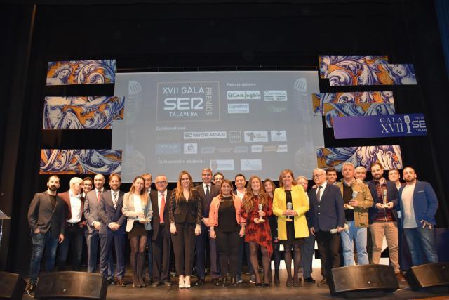 Gala de los Premios de la Cadena Ser de Talavera
