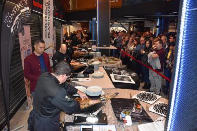 El Mercado de Abastos de Talavera acogió con el III Concurso Nacional de Cortadores de Jamón