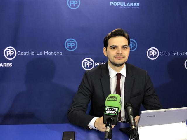 Serrano se muestra 'escéptico' ante las soluciones para el tren de Talavera anunciadas por Page y Ábalos